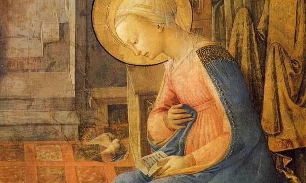 On n'y voit rien, théorie de Daniel Arasse 12505_Blog-11-28-2013-Fra-Filippo-Lippi-Annunciation-detail-628x376