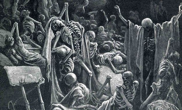 The Living Dead: Monks, Nuns, and Zombies